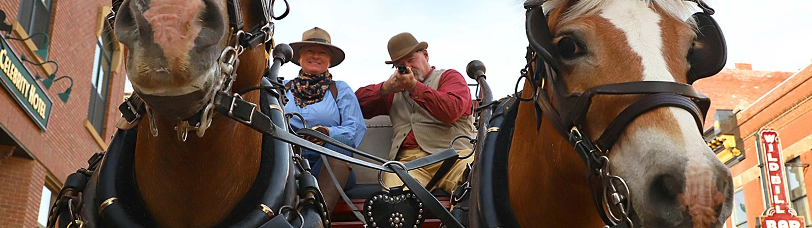 Deadwood Stagecoach Rides